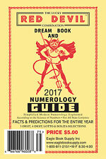 2017 Lucky Red Devil Combination Dream Book & Numerology Guide - Lottery Book