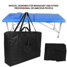 Portable Massage Table Spa Bed Black Folding Easy Carrying Bag Shoulder Bag New!