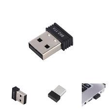 Mini USB WiFi Adapter N 802.11 b/g/n Dongle High Gain 150Mbps Wireless Antenna
