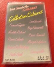 Cassette Audio Une Soirée au Cabaret Collection Cabaret Volume 2 !