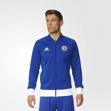 BRAND NEW $120 Adidas Soccer Men's Chelsea FC Anthem Jacket Blue White AP1550