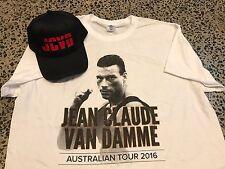 ### JEAN CLAUDE VAN DAMME TEE SHIRT & CAP ### BLOOD SPORT UNIVERSAL SOLDIER ####