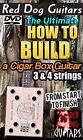 How To Build Cigar Box  Resonator Guitars DVD make 3  4 string fretted necks