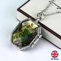 Slytherin Horcrux Pendant Necklace - Harry Potter- UK Stock