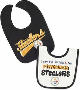 Pittsburgh Steelers Newborn Baby  Bib 2pc Set
