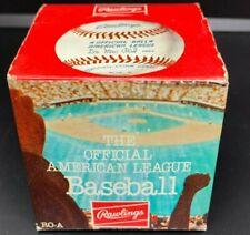 1973-81 Rawlings Lee MacPhail Official American League Baseball Sealed Box