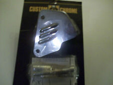FRONT CALIPER COVER FOR HARLEY-DAVIDSON,CHROME,LOUVERED
