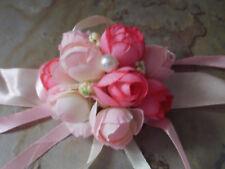 Brautjungfer Blumenarmband Hochzeit Blume Perle Rosa Blumenmädchen / Tischdeko