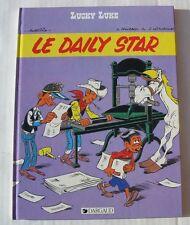 BD LUCKY LUKE - LE DAILY STAR - MORRIS / FAUCHE / LETURGIE - E.O. Novembre 1984