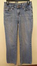 Levis Signature Size 4 Medium Misses Blue Mid Rise Bootcut Denim Jeans nice fade