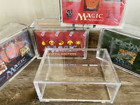 ARK-10Z Magic the Gathering Fit-Booster Box Acrylic Display Screw Case Clear MTG