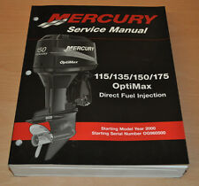 Mercury 115 135 Optimax Direct Fuel Injection Werkstatthandbuch Aussenbordmotor