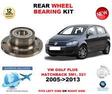 für VW Golf Plus 2005-2013 NEU 1 x HINTEN 32mm Radlager Satz