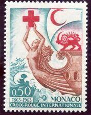 STAMP / TIMBRE DE MONACO N° 607 ** CROIX ROUGE 1963