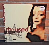 THE USED - The Used Self Titled, Ltd 2LP CLEAR SPLATTER VINYL + DL Gatefold  NEW