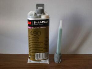 nouveau modéle!!! colle / scotch weld 3M bi composant epoxy dp 490 50ml