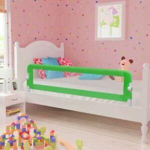 vidaXL Barriera di Sicurezza Letto Bambino 150x42 cm Verde Protezione Sponda