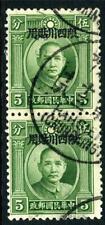 China 1933 Szechwan SYS 5¢ Wide Type A VFU J978