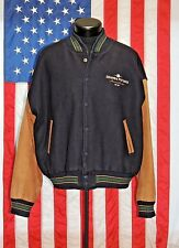 VTG Mac Murray USA LG Wool Letterman Jacket Coat Columbia Pictures Film Heavy