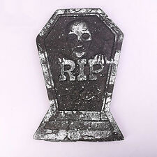 1X Tombstone Halloween Prop Decoration Haunted Spooky Decor House Outdoor Indoor