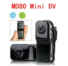 Mini DV DVR Camcorder Video Camera Spy Hidden Web Cam MD80+2Bracket+Clip+Case CA