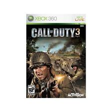 Pal version Microsoft Xbox 360 Call of Duty 3