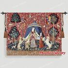 The Lady & Unicorn Medieval Fine Art Tapestry Wall Hanging - DESIRE (Medium), AU