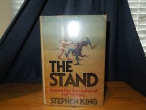 """Stephen King """" THE STAND """" A very hard to find book with jacket """" first edition"""""""