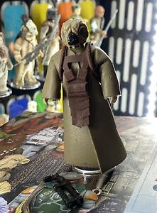 Vintage Star Wars Figure PBP Red Armour 4-Lom Complete