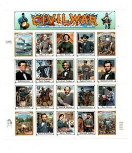 A Fantastic mint United States Civil War Sheetlet