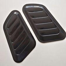 2 Pcs Car Hood Fender Decorative Air Flow Intake Scoop Bonnet Vent Cover Sticker