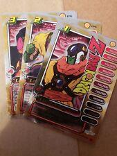 1x Dragonball Z GT DBZ CCG TCG lord slug CP4, CP5, CP6 set FOIL RARE Card Score