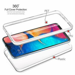 Luxury 360 Gel Front and Plastic Back Hybrid Case Cover For iPhone 8 and 8Plus