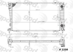 Radiator   Global Parts Distributors   2258C