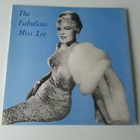 Peggy Lee - The Fabulous Miss Lee Vinyl LP UK 1st 1963 Press -1N/-1N EX+/EX+