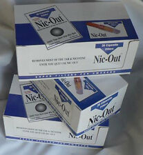 NICOUT cigarette filters 60 packs 1800 filters Fiter Out Tar & Nic FREE SHIPPING