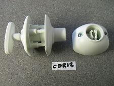Roulotte Camper Fiat Plastica Bianco Esterno Della Porta Fermo Catch CDR12