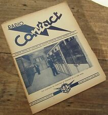 RADIO CONTACT N° 3 JUIN JUILLET 1949