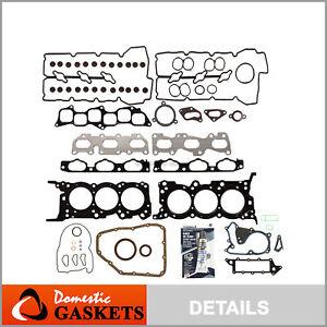 Full Gasket Set Fits 04/21/07-09 Hyundai Sonata Azera Santa Fe 3.3 G6DB  DOHC
