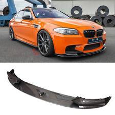 Front Bumper Lip For 2011-2016 BMW F10 5 Series M Sport Performance Carbon Fiber