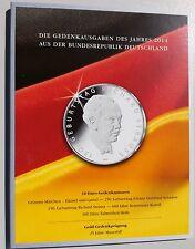Münzfolder 10 € Gedenkmünzen Set 2014 BRD Ausgabe MDM für 5 x 10 Euro - Münzen