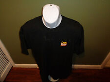 Live with Regis and Kelly logo black t shirt SZ XL embroidered logo SIGNED REGIS