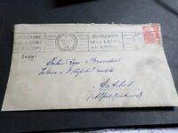 FRANCE CACHET 1949, SEUL LETTRE timbre 812, GANDON, LAINE, oblitéré VF COVER
