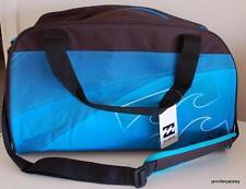 BILLABONG NEW BASE TRAVEL BAG 40L BLUE AQUA UNISEX SURF LOGO CARRY ON COMPATIBL