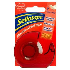 Sellotape Double Sided Tape and Dispenser - 15mm x 5m - FREE P&P
