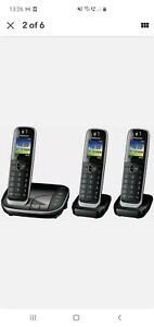 PANASONIC KX-TGJ423EB Cordless Phone - Triple Handsets - Currys