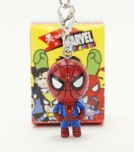 """Tokidoki 2.5"""" Marvel Frenzies Spiderman Zipper Pull Keychain Phone Charm"""