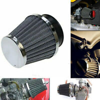 4pcs 54mm Chrome Universal Motorcycle Air Filter Pod Scooter ATV Dirt For Yamaha