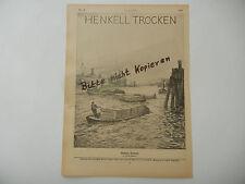 Hübner Heubner HENKELL SECCO ORIGINALE FOGLIO RIVISTA GIOVANI 1909 (b0013)