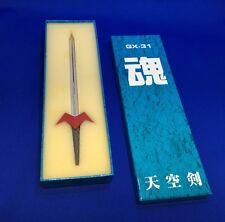 Voltes V Laser Sword Heavy Die Cast Metal GX-31 Series Godaikin Bandai Original